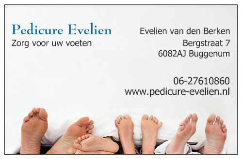 Pedicure Evelien